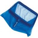 Epuisette de fond bleu
