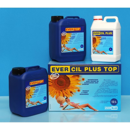 Kit 1 evercil 3L + 2 evertop 5L